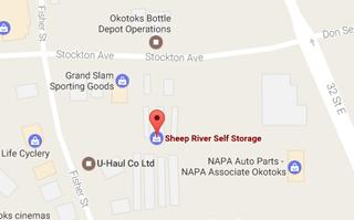 Okotoks Self Storage Sheep River Self Storage Serving Okotoks